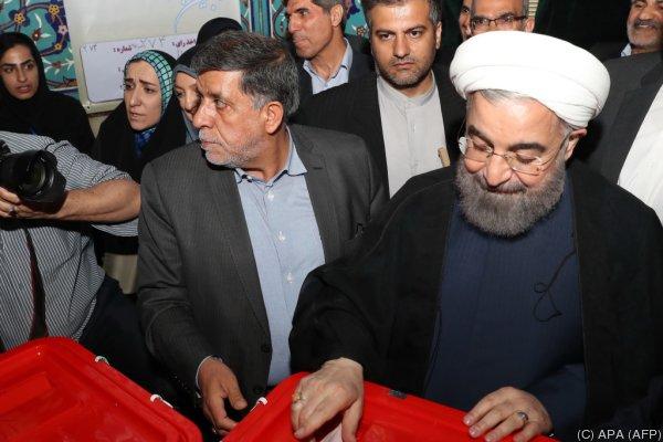 Bekommt Rouhani eine zweite Amtszeit?