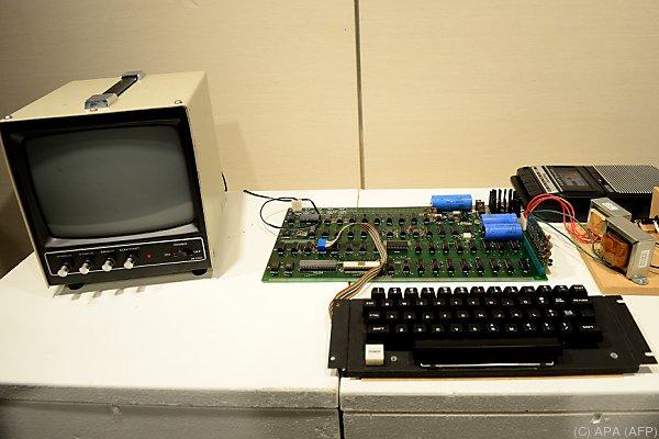 Der Apple I wurde rund 200 Mal hergestellt