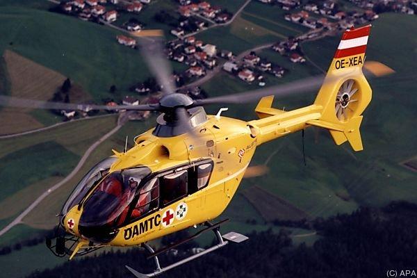 Der 13-Jährige wurde zur Untersuchung ins Spital geflogen