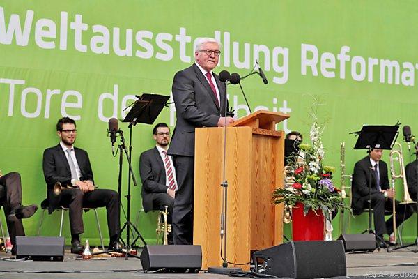 Kirche: Weltausstellung Reformation in Wittenberg eröffnet