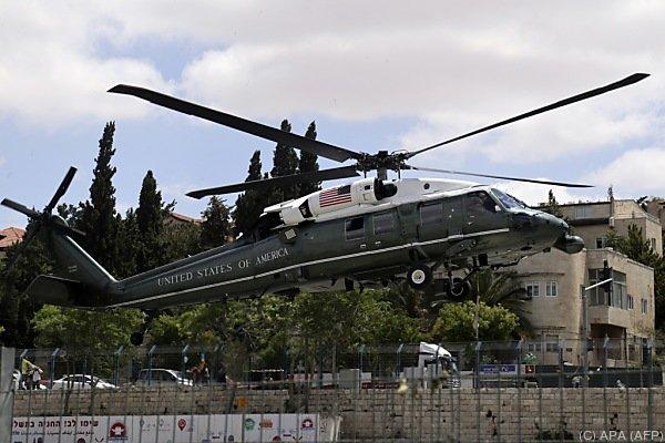 Trump besucht Israel und Palästina