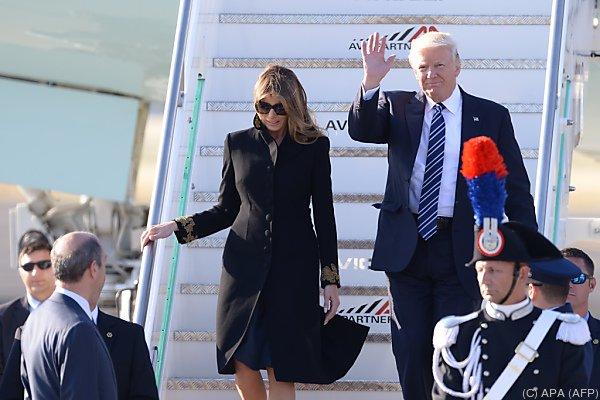 Konträre Themen : Trump trifft erstmals Papst Franziskus