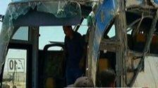 23 Tote bei Angriff auf Bus mit Christen in Ägypten