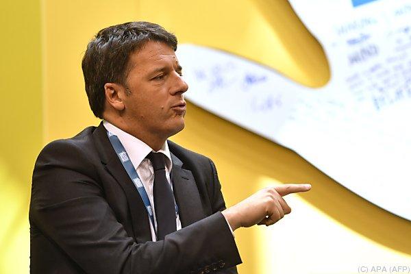 Renzi: Parteien in Italien einig über neues Wahlsystem