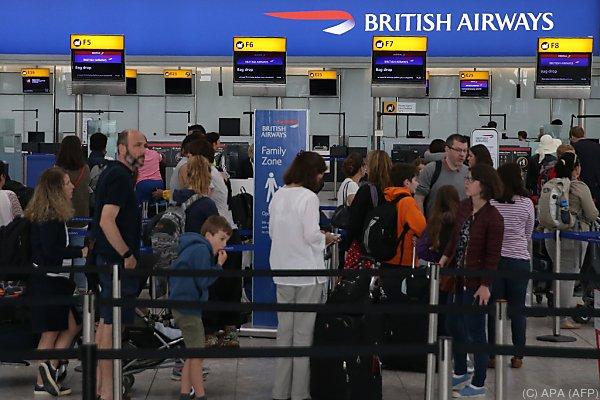 Flugbetrieb bei British Airways nach IT-Panne weiter gestört