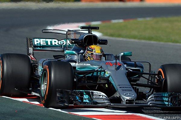 Formel 1: Lewis Hamilton krallt sich die Pole-Position