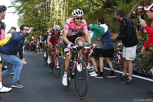 Dumoulin hielt seinen Konkurrenten Quintana auf Distanz