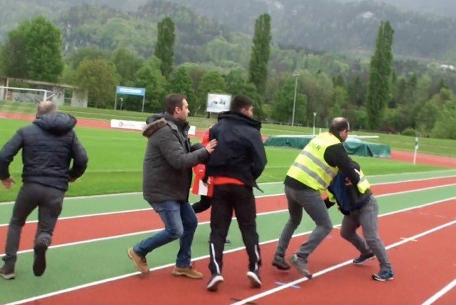 Video! Nach Tumulte in Götzis: Hohe Strafe, lange Sperre