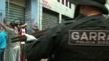 """Brasilianische Polizei stürmt """"Crack-Land"""""""