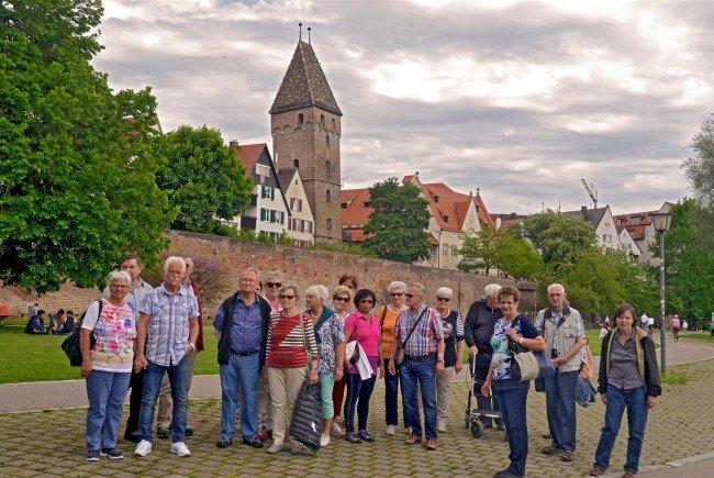 Bludenzer Pensionisten in Ulm