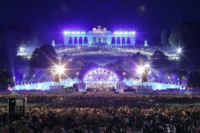 Das Sommernachtskonzert der Wiener Philharmoniker findet heuer am 25. Mai statt.