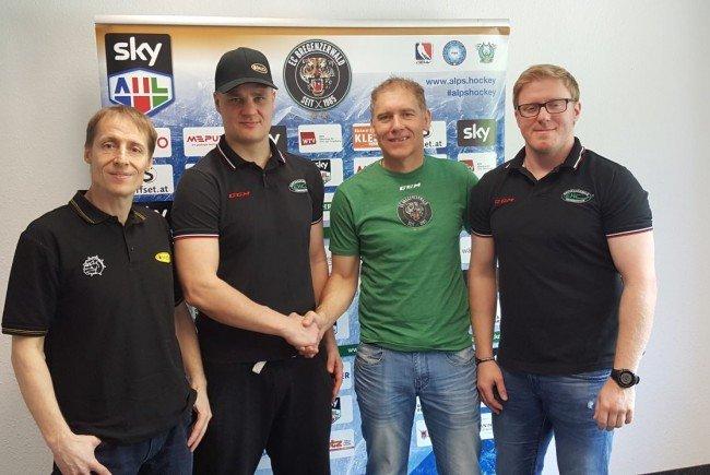 Neues Trainerduo Tupamäki und Judex beim EHC Bregenzerwald