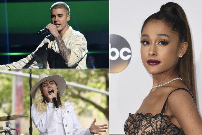Justin Bieber, Miley Cyrus und Co. singen für die Opfer vom Manchester-Anschlag