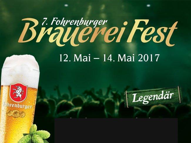 7. Fohrenburger Brauerei Fest: Jetzt Tickets gewinnen!