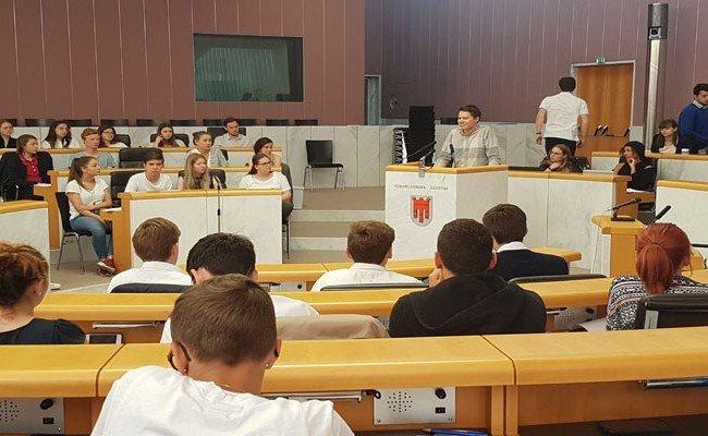 Die Vorarlberger Schülerschaft besprach Themen wie den Ethikunterricht.