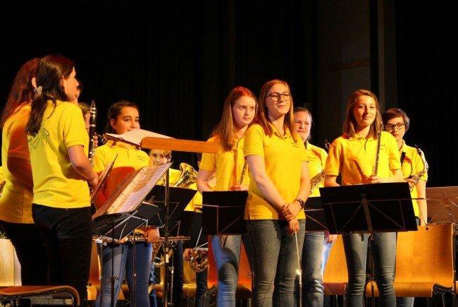 Begeisternder Auftritt der Jungmusik des Musikvereins Frastanz