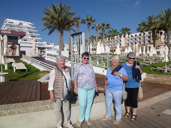 Mäderer PVÖ auf Kulturreise in  Zypern