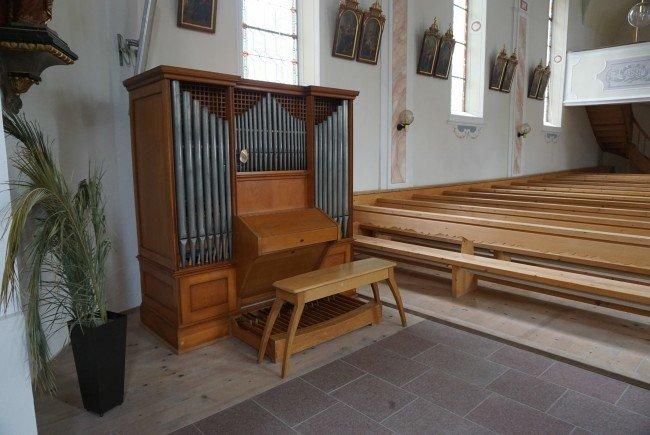 Die Orgel von der Firma Felsenberg wird die Friedhofskirche wieder mit warmen Klängen erfüllen.