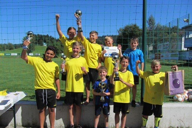 SC Hohenweiler, Fußballcamp 2016, Sieger