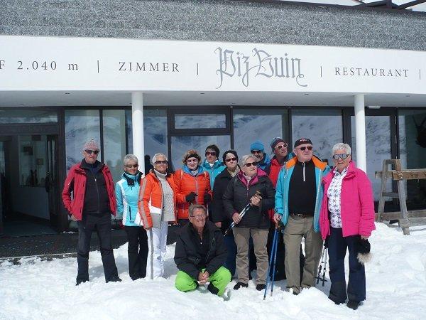 Winterausflug des PVÖ St. Gallenkirch auf die Bielerhöhe