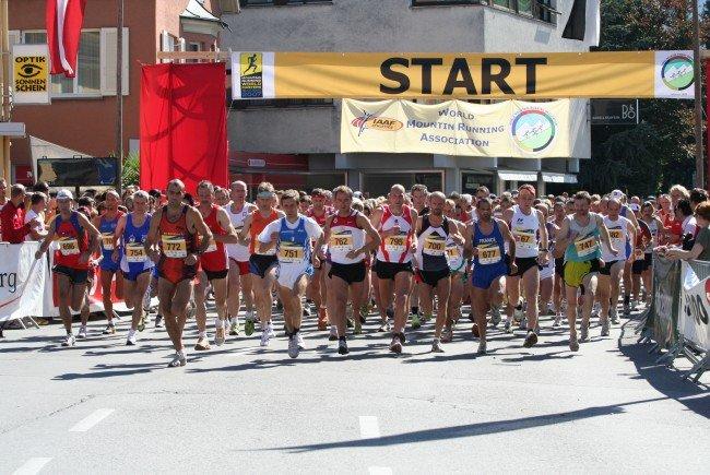 Weltelite im Berglauf wird am 4. Juni in Bludenz erwartet
