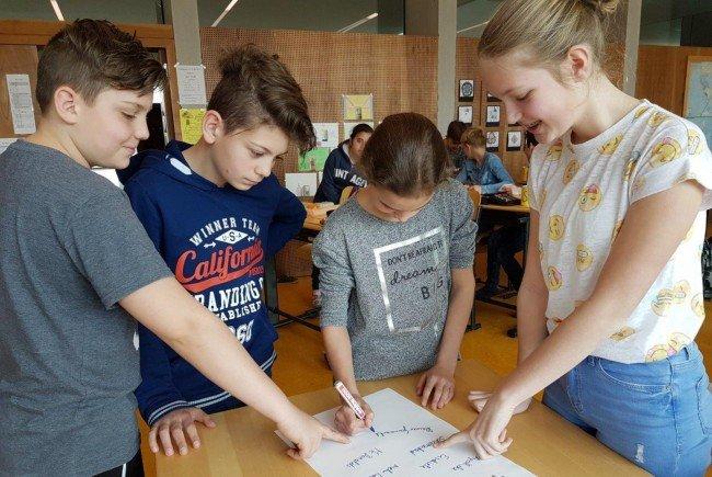Auch die Kinder und Jugendlichen in Mäder beteiligen sich am Audit