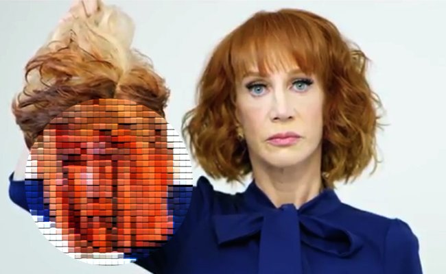 US-Schauspielerin zeigt blutigen Trump-Kopf: Der Präsident ist stinksauer