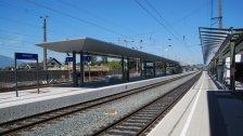 Rankweil: Baubeginn für neues Bahnhofsgebäude