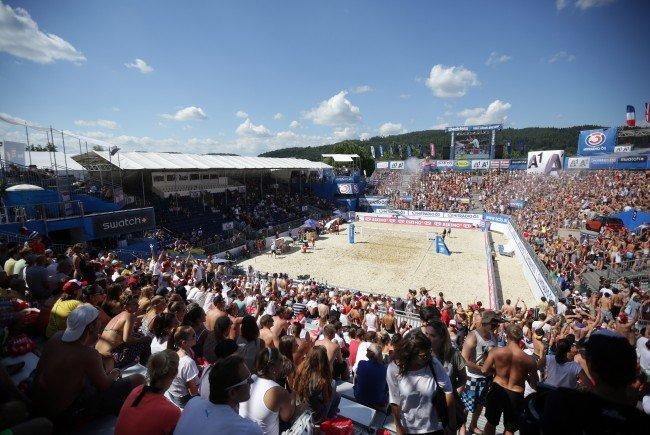 Für die Beach-Volleyball-WM 2017 in Wien sind bereits Tickets erhältlich.
