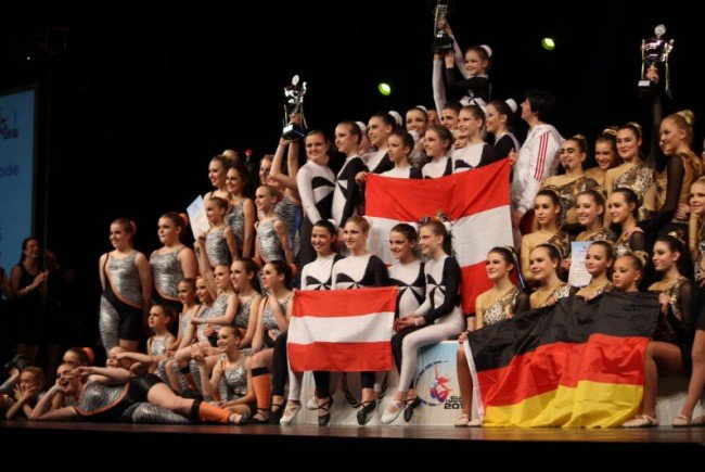 ATSV Walgau wurde Europameister im Tanzsport