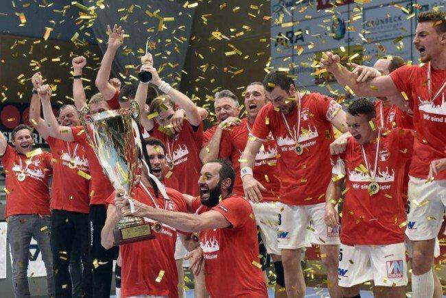 Hard zog mit dem sechsten Meistertitel mit Graz gleich