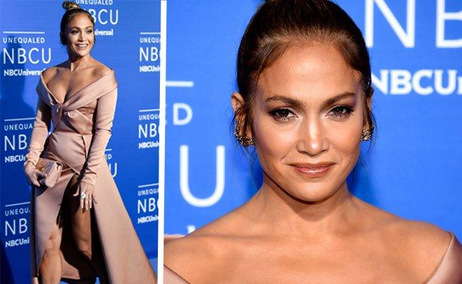 Gewährte einen zu tiefen Einblick: Jennifer Lopez.