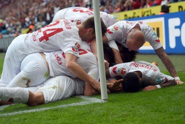 Köln jubelt über Europacup-Platz