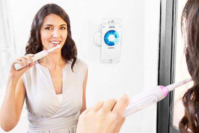Neueste Technik hilft beim gründlichen Zähneputzen!