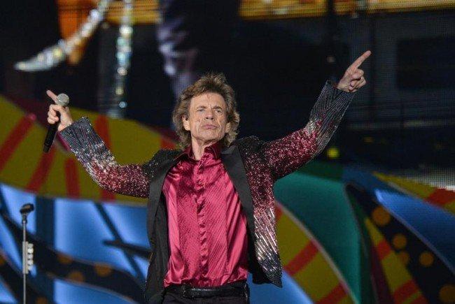 Rolling Stones live: Mick Jagger und Co. kommen nach Österreich.