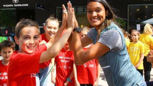 Topstars hautnah: Kinder und Profis messen sich am Garnmarkt
