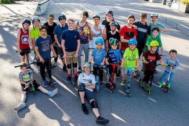 Die Kinder und Jugendlichen waren begeistert vom zweiten Jugend-Event im Jugendpark amKumma