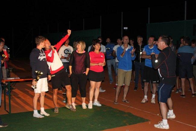 Die Tenniscracks vom UTC Egg sind erneut Bregenzerwälder Meister.