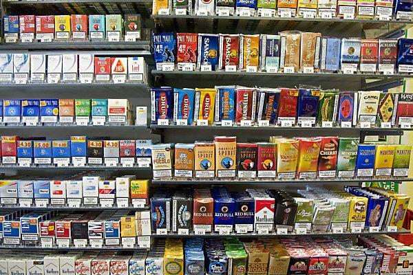Größte Preisunterschiede bei Zigaretten und Alkohol