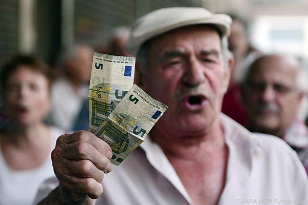 Griechen sehnen sich nach Normalität