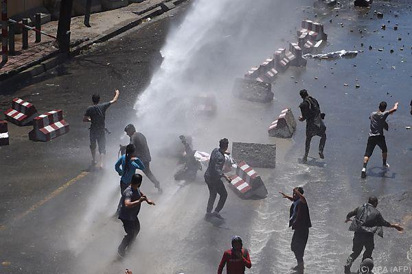 Tote und Verletzte bei Polizeieinsatz gegen Demonstranten in Kabul