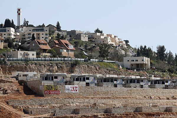 Israel plant weiteren Ausbau von Siedlungen im Westjordanland