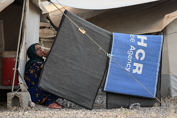 Lebensmittelvergiftung in Flüchtlingslager bei Mossul - Tote