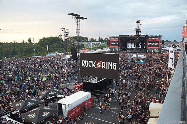 Rock am Ring konnte fortgesetzt werden