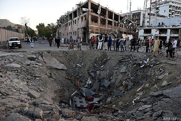 Laute Explosion in Kabul - mutmaßlich Anschlag auf Schiiten-Moschee