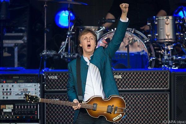 "Beatle Paul McCartney wird ein ""Companion of Honour"""