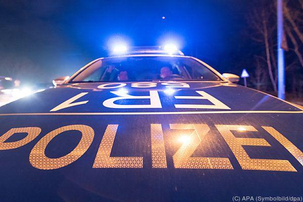 Der Fahrer wurde vorübergehend festgenommen