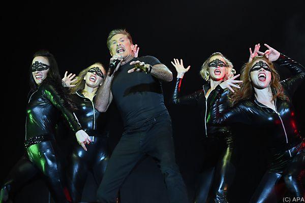 "David ""The Hoff"" Hasselhoff begeisterte erneut das Nova-Rock-Publikum"