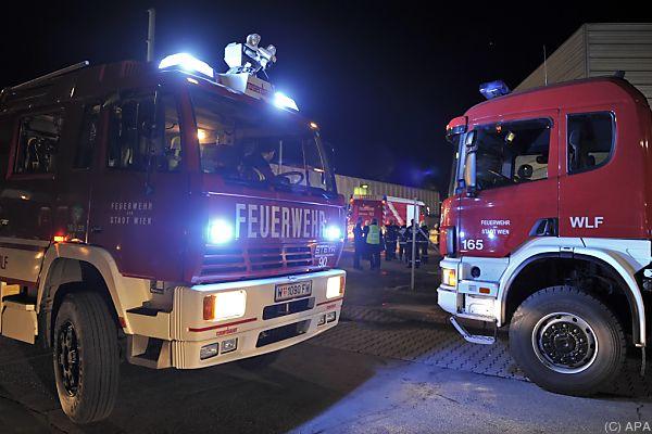 Die Feuerwehr brachte zehn Bewohner ins Freie