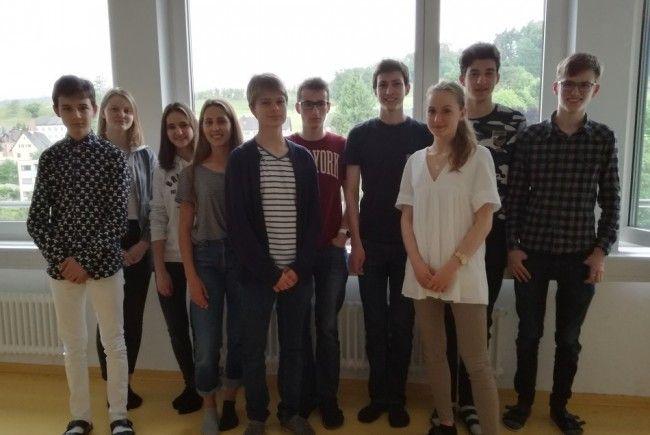 SchülerInnen mit besonderem Engagement und unternehmerischer Kompetenz